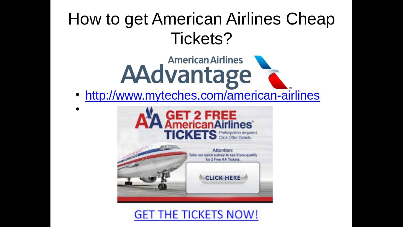 American Airlines Cheap Flights To Vegas Tickets Sale