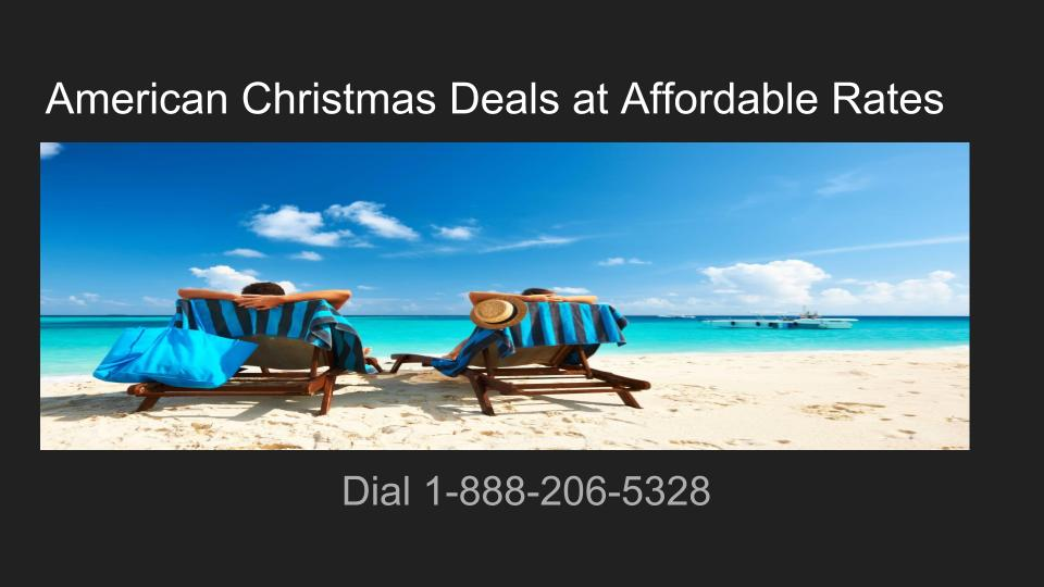 American airlines Christmas deals of the week