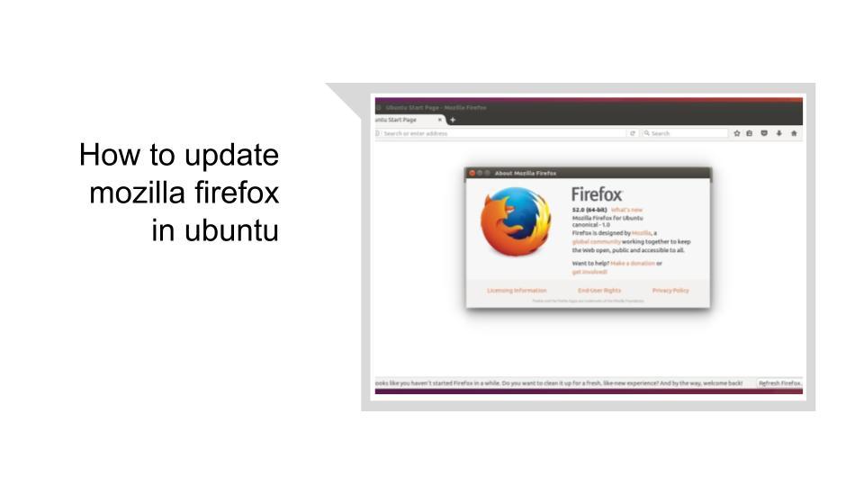 How to update Mozilla Firefox in ubuntu| Mozilla Firefox