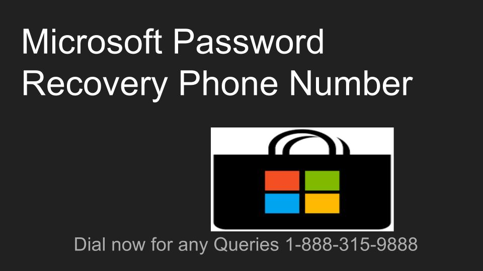 recover microsoft account without phone number